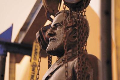 Virginia's Lee statue has been  removed from the US Capitol