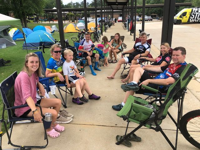 BRAG riders love Carrollton - and the feeling is mutual