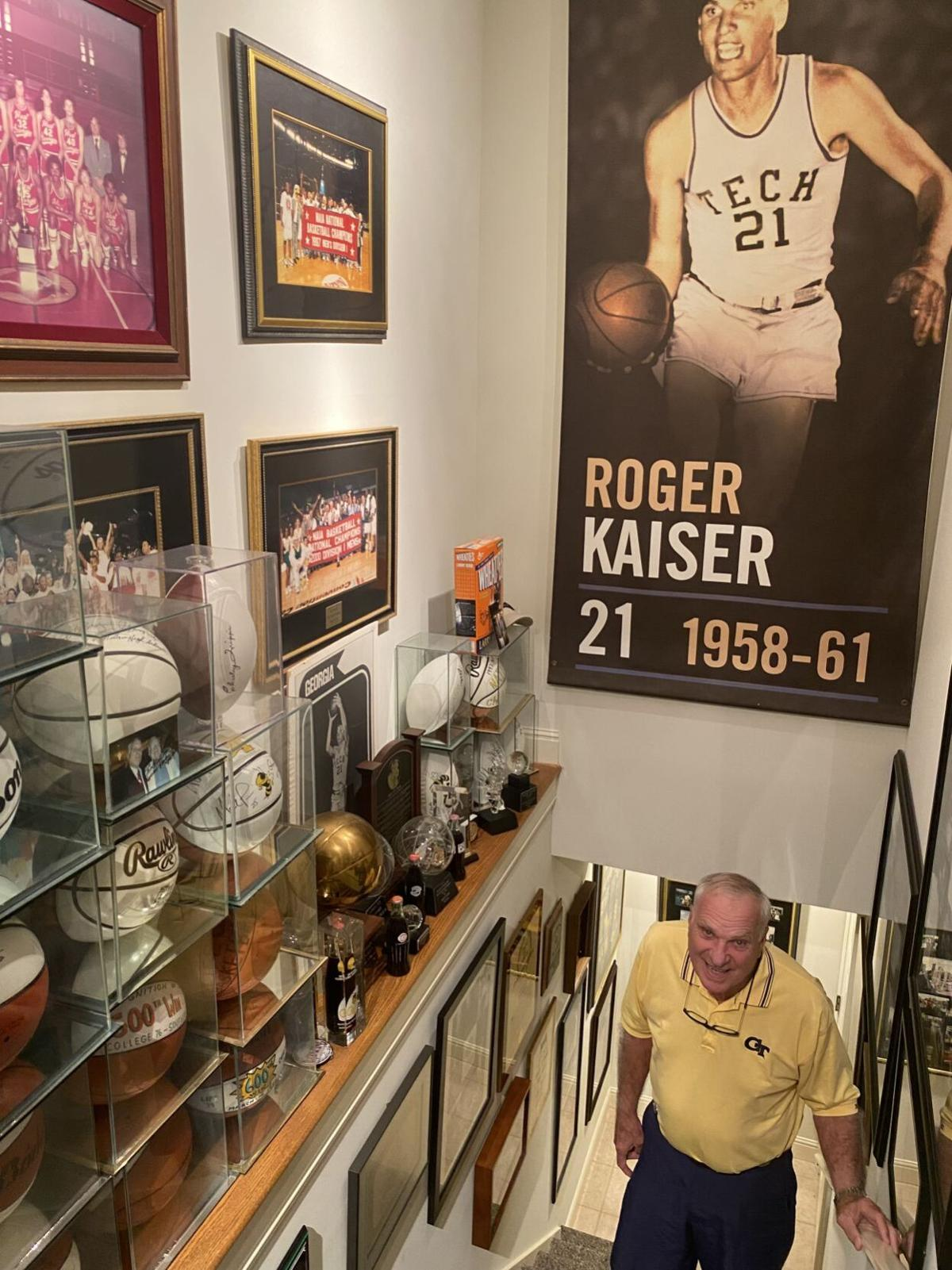 Kaiser inducted to Small College Basketball Hall of Fame