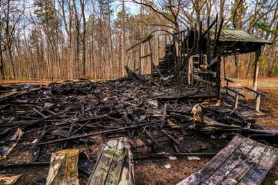 Smith Chapel fire