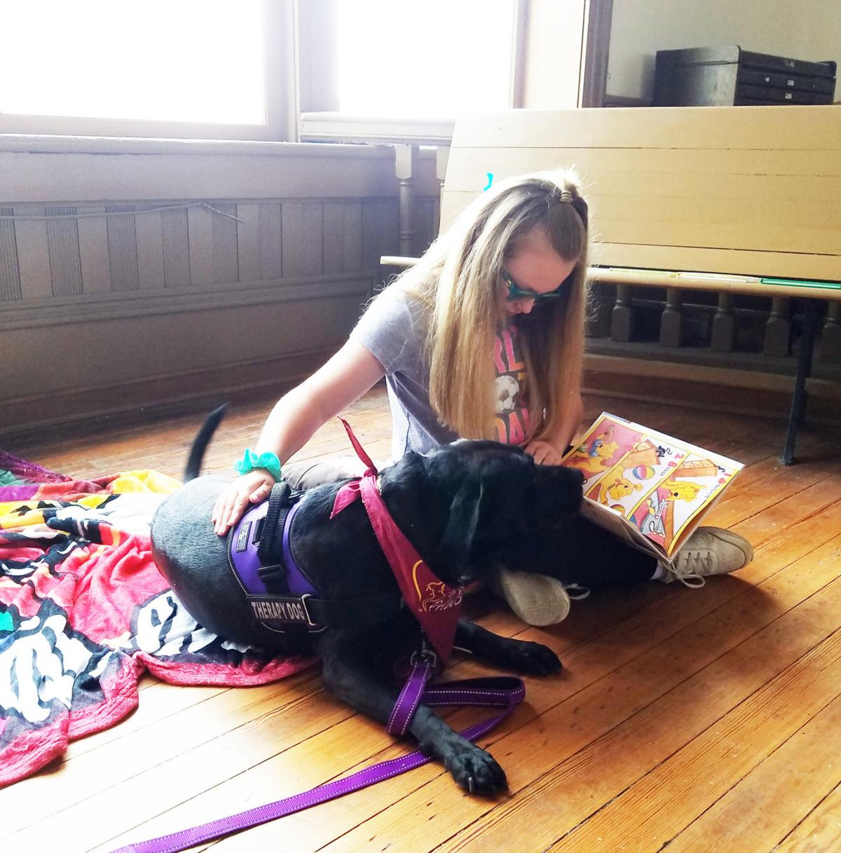 Summer reading program going to the dogs