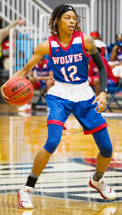 Wolves fall to Lady Flames in Gulf South shootout