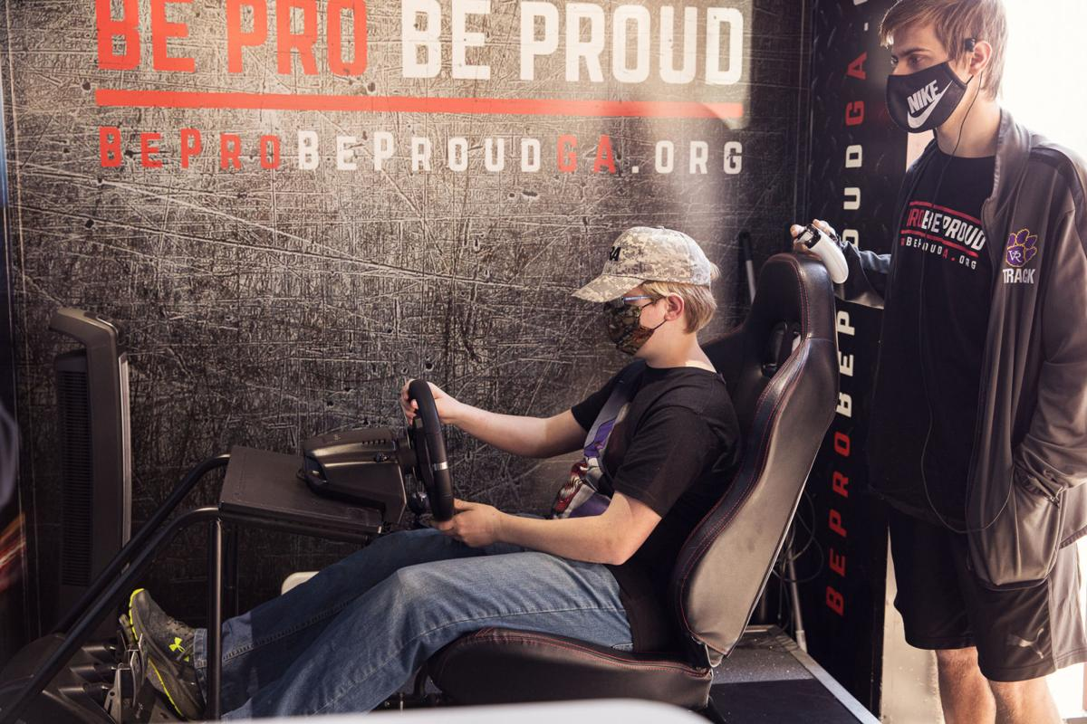 Be Pro Be Proud Georgia Tour stops at County Schools' career academy