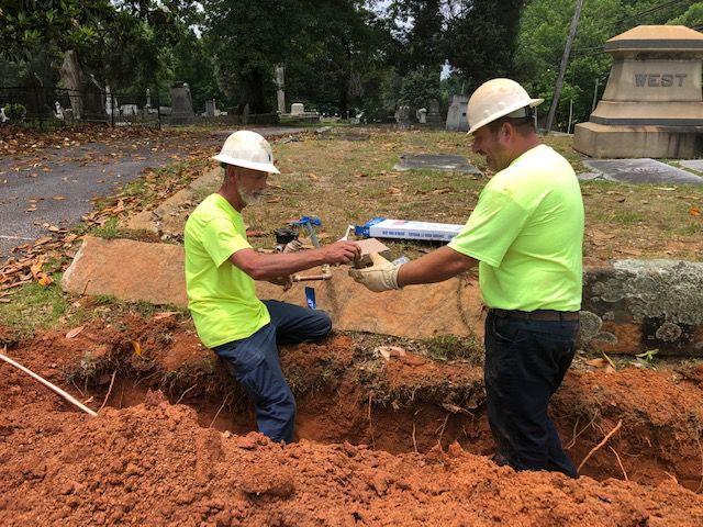 Carrollton City Cemetery has 450 lots remaining