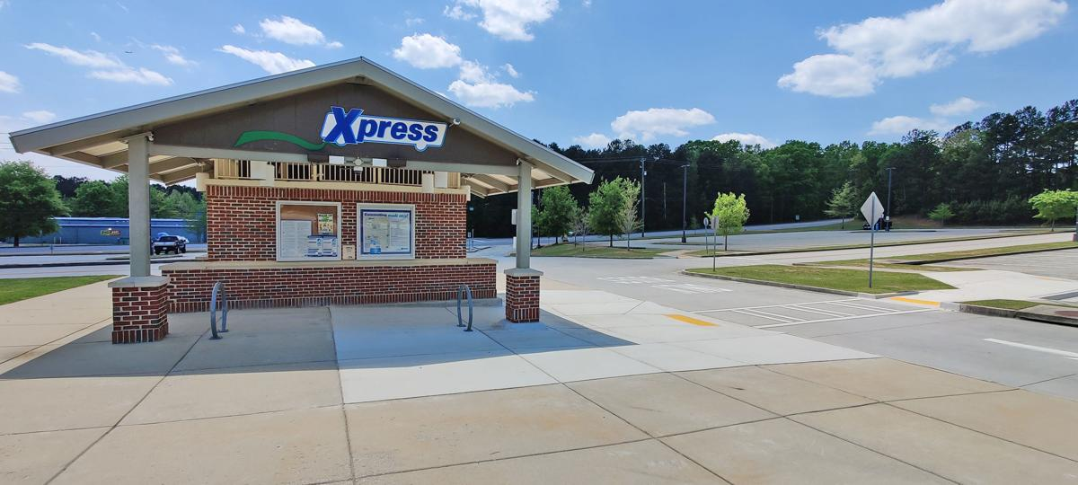 Xpress West Douglas Park and Ride has new look