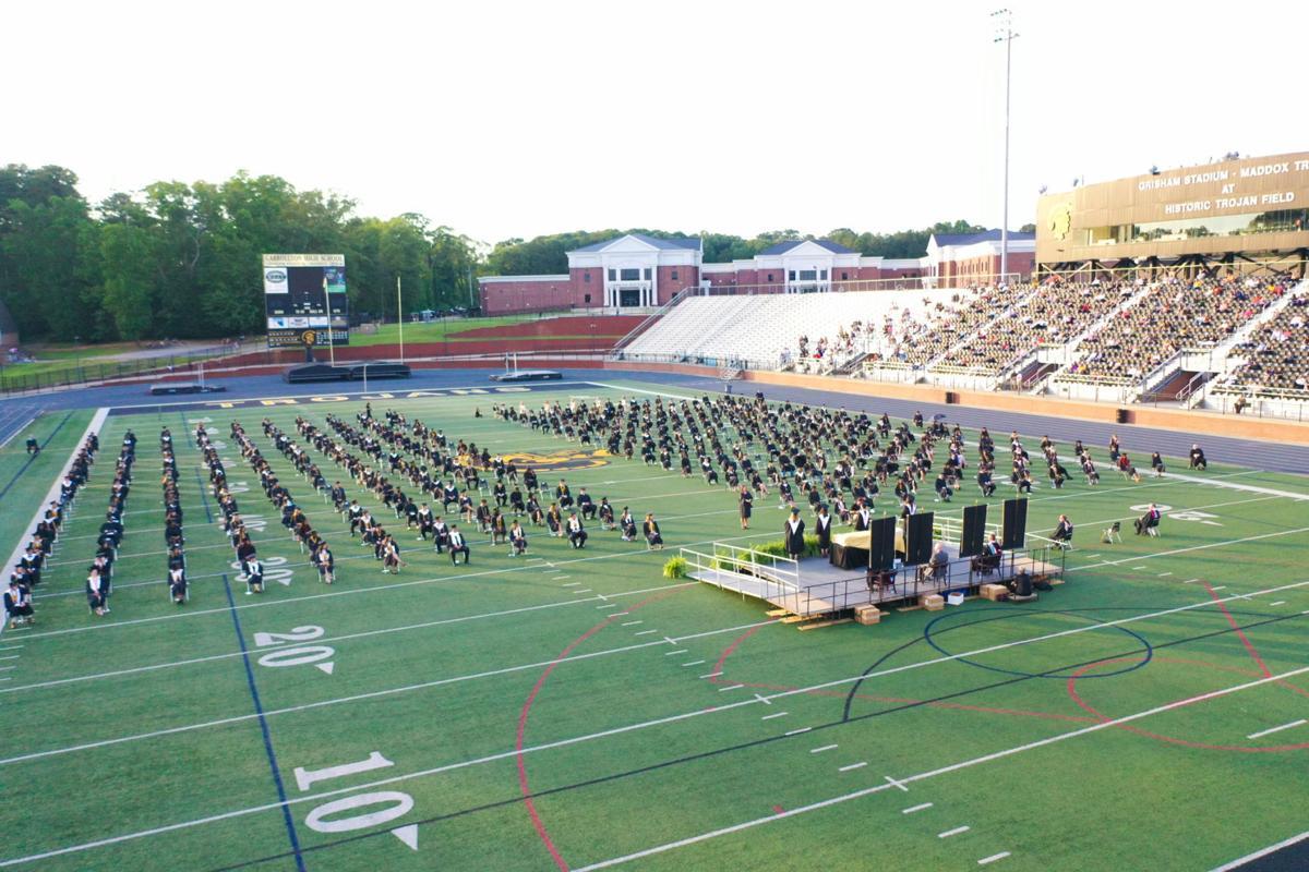 Graduation jump photo