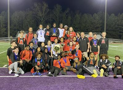 Alexander sweeps county track and field championship
