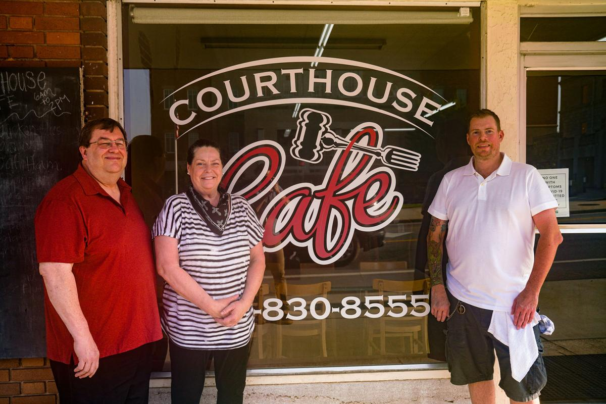 Courthouse Cafe reopens front