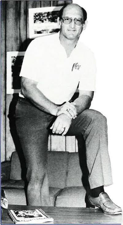 Coach Frank Vohun- UWG Photo