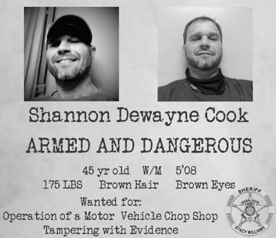 Man wanted in connection with alleged 'chop shop'