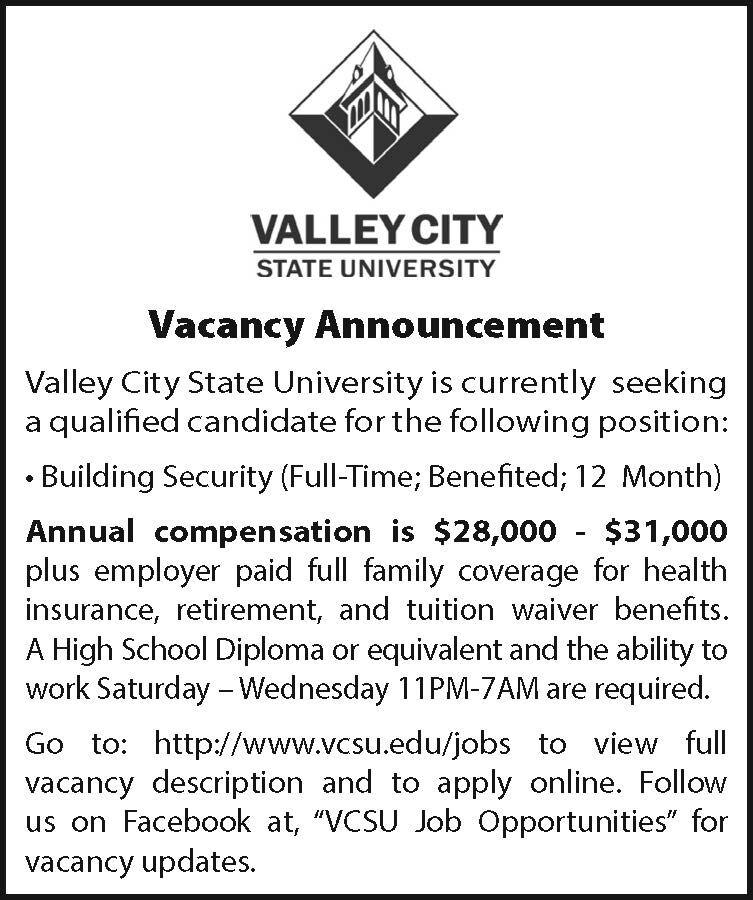 VCSU/BuildingSecurty