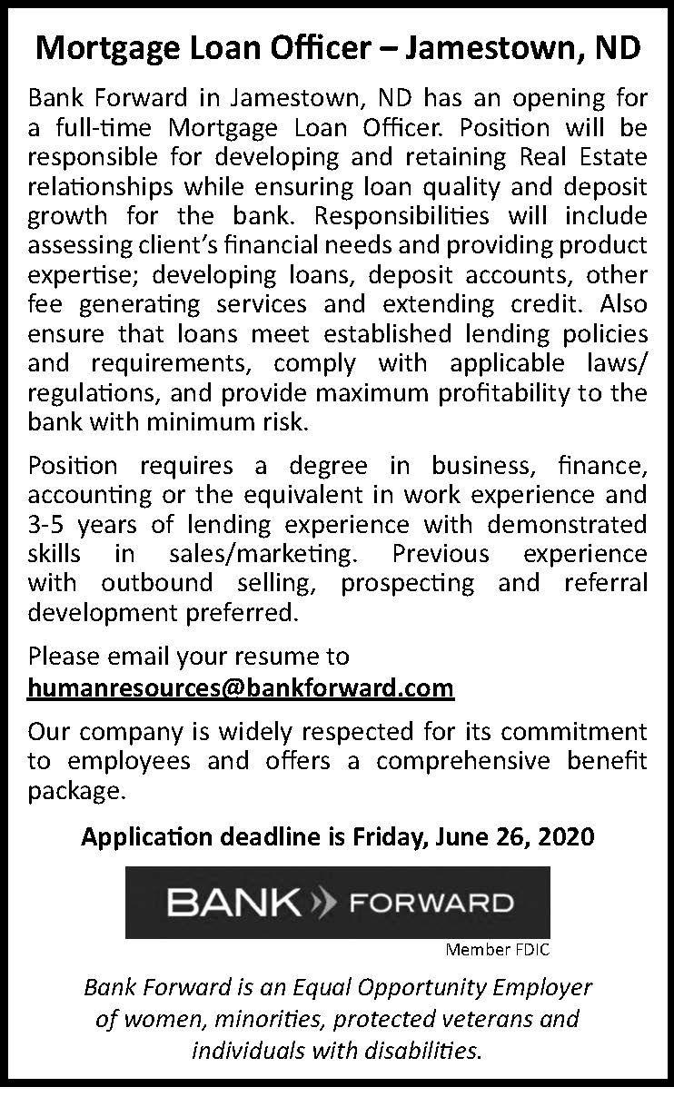 Bank Forward/Jmst Loan Tech