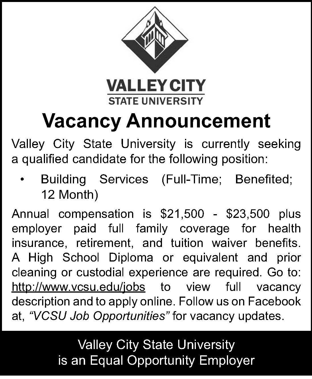 VCSU/Building Services