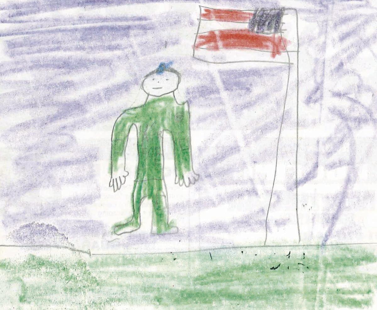Draw Dad - Joey Mehus age 10-12 winner