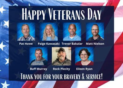 VCPS Veterans Teachers/Staff