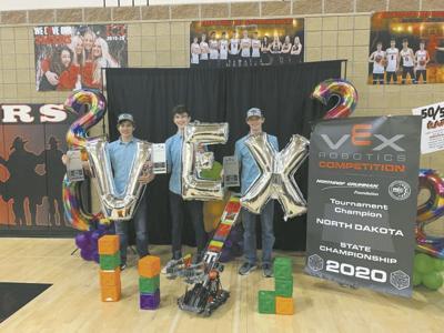 Sr High Robotics Team State Champions 2020