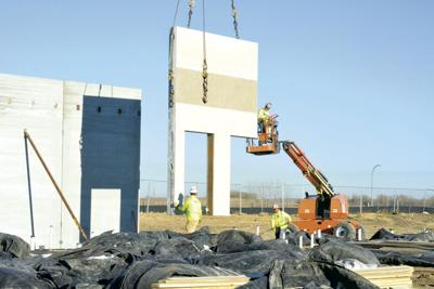 Jail Precast Walls