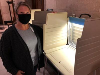 Beth Didier Voting Machine