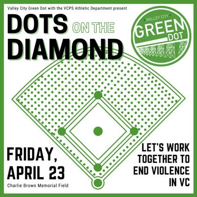 Green Dot on Diamonds