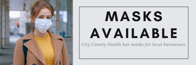 City County Health Businesses Free Masks