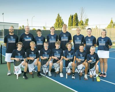 Hi-Liner Tennis Team vs. West Fargo Aug. 2020
