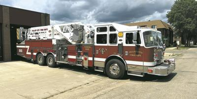 New VCFD Ladder Truck