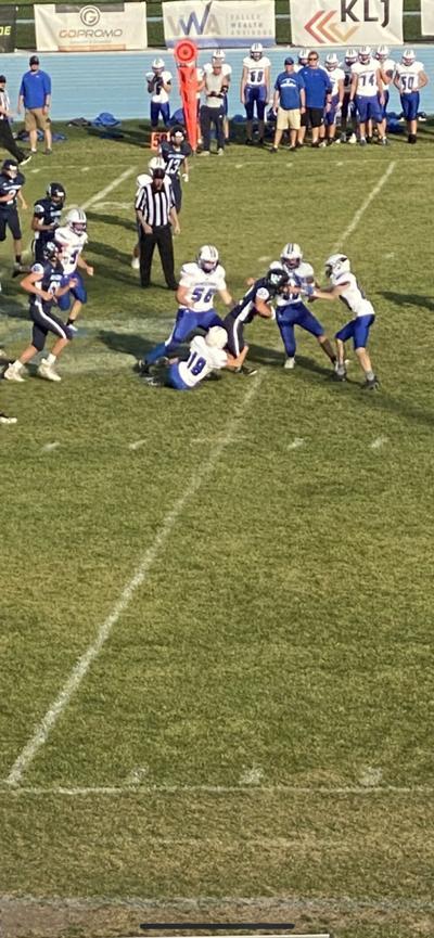 Hi-Liner JV Football 2021 Defeats Jamestown