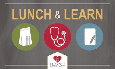 Hospice RRV Logo/Lunch and Learn Logo
