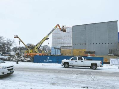 VCSU Arts Center Construction - Feb. 2021
