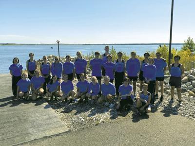 Hi-Liner Cross Country Team at Graham's Island