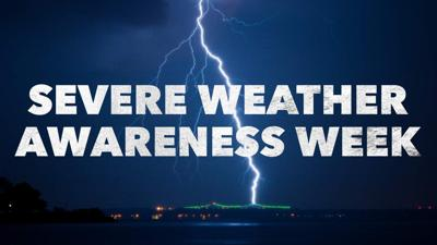 Severe Weather Awareness Week Graphic