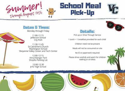 VCPS Summer Meals Graphic