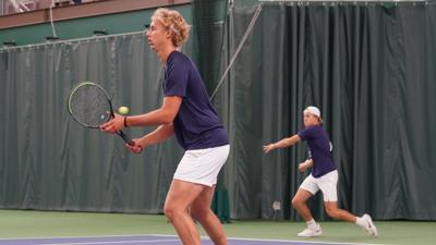 Hi-Liner Doubles Tennis at State 2021 - Zeltinger and Kringlie