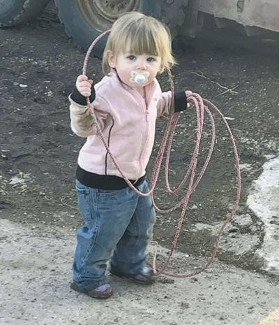 Zoey Anderson With Roping