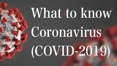 Coronavirus: What To Know Graphic