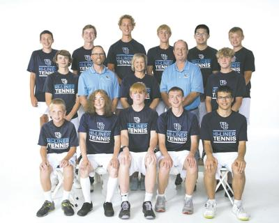 vchs tennis boys 2021 team