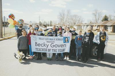Becky Goven - Teacher of Year 2021