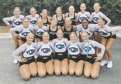 VCHS Dance Team at Camp