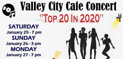 Cafe Concert 2020 Topper