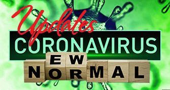 Coronavirus New Normal Graphic