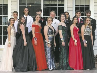 VCHS 2020 Backyard Prom Attendees