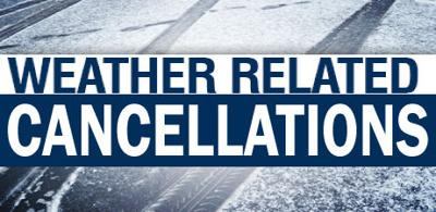 Weather Cancellations Graphic