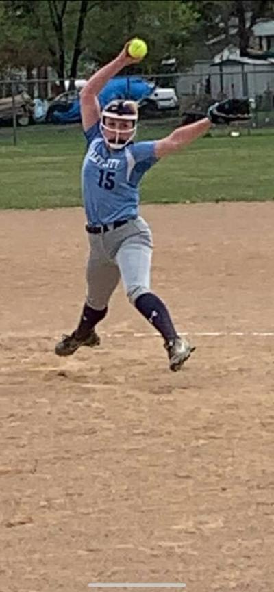 VCHS Softball Pitcher