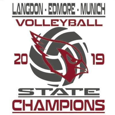 Class B Volleyball Graphic
