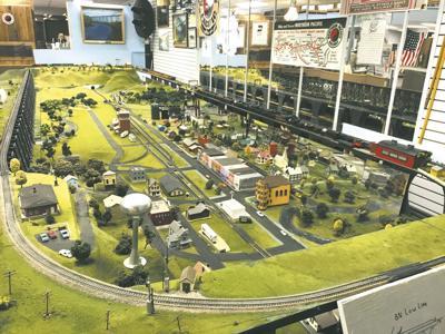BC Museum Train Model