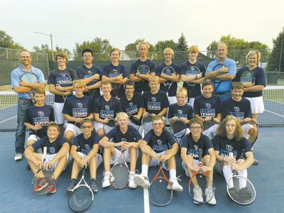 Boys Tennis Team 2021-22