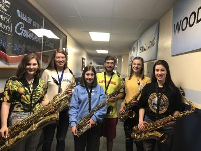 VCHS Saxophone Ensemble EDC State Contest