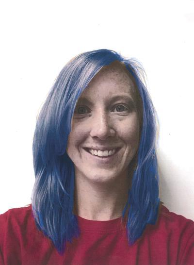 mrs Krueger Blue Hair