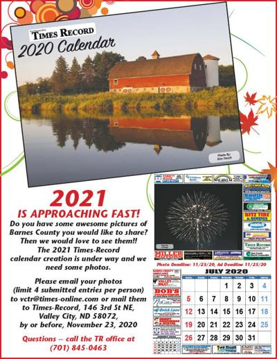 2021 Calendar Ad