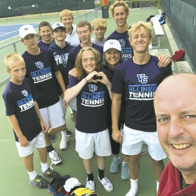 VCHS Tennis Wins at West Fargo